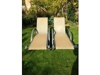 2 ALL WEATHER - SUN LOUNGERS
