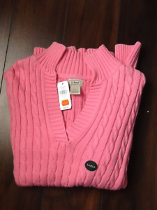 L.L. BEAN SWEATERS - LARGE
