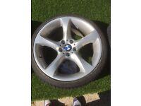 BMW 5-spoke twist