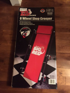 Big Red Shop Creeper - brand new