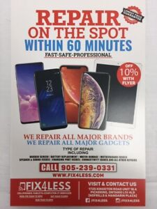 Fix4Less~ 1 hr Repair Time! Match and Beat Any Price!