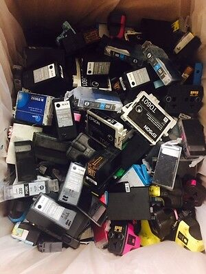 Mix lot of 300 +10 Non Virgin Empty Ink Cartridges