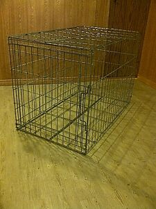 Collapsable steel animal cage for sale. Cambridge Kitchener Area image 1