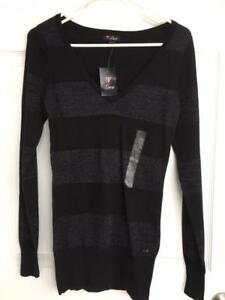 Guess sweater, Navy, with sparkle strip