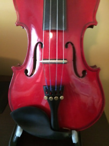 New SHARNEL  Electric Acoustic Violin