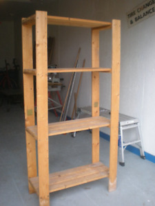 Solid Wooden Storage Rack