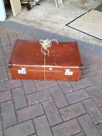 Old Suitcase Retro Shabby Chic Display Theatrical Props