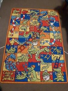 Kids Snakes Ladders & Crocs Rug Gwelup Stirling Area Preview