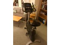 Life Fitness Lifecycle C3 Upright Exercise Bike with Go Console - Barely Used, Collection Only
