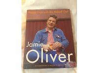 Signed Jamie Oliver book