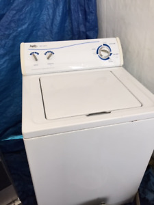 Practically new Inglis washer and dryer set for sale.