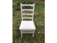 Dining room chairs - set of 8