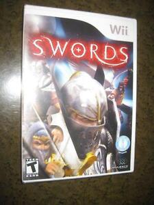 Swords - Nintendo Wii Game - Teen - Ultimate Sword Fighting Contest. Travel in Time and Space to Compete. NEW. Sealed.