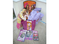 7x BRATZ things For Sell, inc Bedding, Chair, Disc, Bag , Stickers