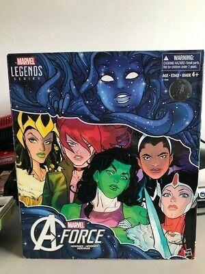 NEW SEALED SDCC 2017 Exclusive Marvel Legends A-Force Heroines 6-Pack Set