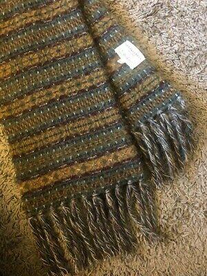 Kent & Curwen knitted fair isle scarf as seen on David Beckham chunky luxury