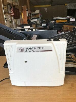 Martin Yale 12171 Auto Folder Automatic Paper Folding Machine 1217
