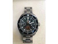Stunning Sinn EZM10 Titanium pilot's watch