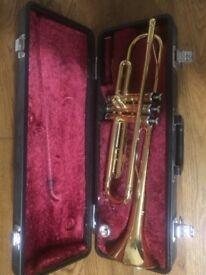 Yamaha Trumpet and Case