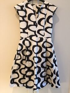 FEMME Sandra Angelozzi Dress (size 32) - Satin Blend