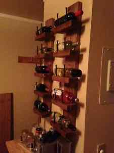 Handmade - Gorgeous Real Wood Wine Rack / Shelf / Shelves