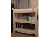Baby Changing Table, White, Nursery Furniture, Tutti Bambini