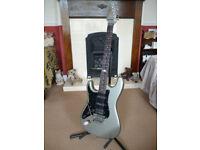 Marlin Sidewinder Electric Guitar Korea 1988. Rare Left Handed Top Model K34KT. Never Used & Superb.