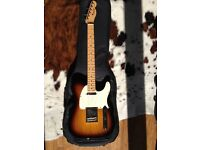 FENDER TELECASTER USA AMERICAN STANDARD SUNBURST W/CASE - IMMACULATE AS NEW