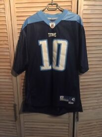 Tennesse Titans, Vince Young, NFL jersey (Size large)