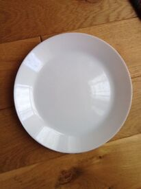 100 glass plates - good for party, wedding etc