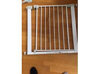 Argos 'Safety First' white stair gate with screw connections