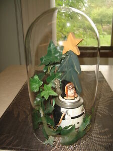 ~ VINTAGE GLASS DOMES TO KEEP YOUR  ITEM SAFE AND CLEAN ~