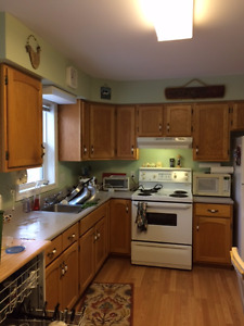 KITCHEN FOR SALE:  all cupboards, counter and appliances!!