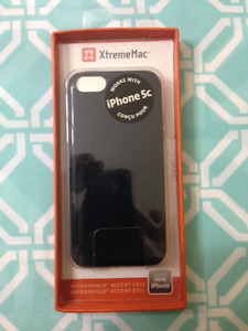 XtremeMac iPhone 5C Black Carbon Fibre Case. BNIB.