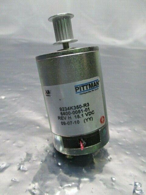 Pittman 9234K350-R3 Servo Motor, Asyst 6400-0051-01, 15.1VDC, Ametek, 100477