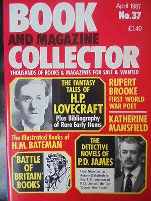 BOOK & MAGAZINE COLLECTOR  No 37 APRIL 1987