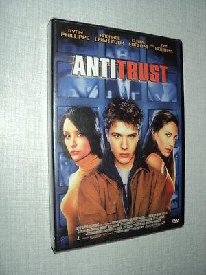 FILM ANTITRUST DVD RYAN PHILLIPPE RACHAEL LEIGH COOK CLAIRE FORLANI TIM ROBBINS