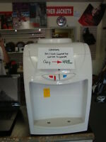 Greenway hot and cold counter top water cooler