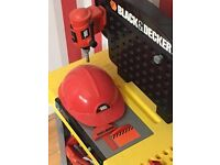 Toy Black and Decker workbench