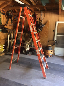 8ft Step Ladder, Feather Lite ++ Various Plumbing Tools