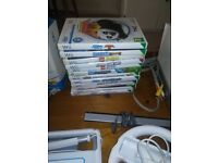 wii bundle with games and accessories