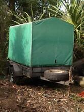 BOX TRAILER WITH CANOPY Eatons Hill Pine Rivers Area Preview
