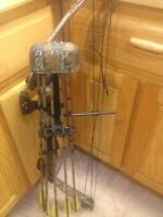 Left handed PSE Pro Series archery bow