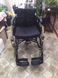Almost new, Pre-Loved Enigma Energi Powerchair - contact 01844 213488