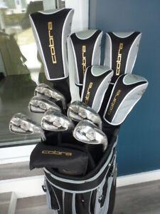 Superbe ensemble de golf Cobra Fly-Z S valeur 1150$!