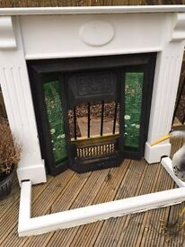 Second Hand Cast Iron / Tiled Fireplace