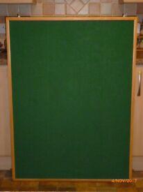Notice Board in Wooden Frame