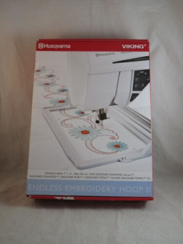 Husqvarna Viking Endless Embroidery Hoop II NEW