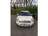 2008 1.6L 3DR, MINI COOPER (HATCHBACK), WHITE, *LOW MILEAGE*, MANUAL, MOT