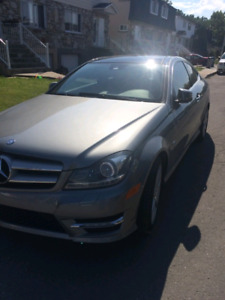 Mercedes C350 coupe *including new winter tires*